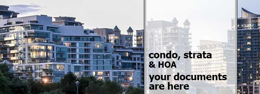 CondoPapers: Condo, Strata and HOA Documents On Demand
